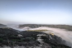 fog waterfall (christidallen) Tags: hike southerncalifornia topoftheworld altavista lagunabeach
