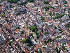 Dom Tower of Utrecht (Marc Rauw.) Tags: city holland tower church netherlands utrecht dom thenetherlands olympus aerial lookingdown olympuspen birdseye domtower m43 40150mm epl1 microfourthirds 43 mzuiko mzuiko40150mm