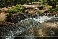 River of 1000 Lingas, Angkor, Cambodia (Seven Seconds Before Sunrise) Tags: travel water river asia cambodia southeastasia carving engraving siemreap angkor riverof1000lingas