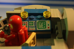 control panel (OlleMoquist) Tags: classic canon toy underwater lego space bricks submarine spaceship custom moc toyphotography legobricks classicspace legoclassicspace teamcanon neoclassicspace legophotography
