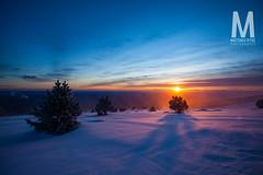 Matthieu Vitre-MtVentoux-5 (photomontagne) Tags: landscape hiver neige coucherdesoleil vaucluse ventoux montventoux