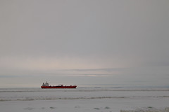 Shipping corridor (Curt) Tags: winter finland icebreaker sampo kemi