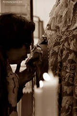 Virgen del Dulce Nombre Besamano (Pasin de Cceres) Tags: del nombre virgen dulce besamano wwwtusemanasantacom