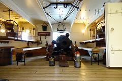 Gun Deck - H.M.S. Warrior (julius_agricola35) Tags: england portsmouthharbour hmswarrior gundeck
