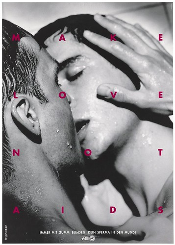 Advertisement for safe sex by the AIDS-Hilfe Schweiz Wellcome L0053822