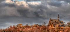Halton Castle and St Mary's church (Keo6) Tags: