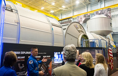 Dr. Jill Biden Tours NASA's Johnson Space Center (NHQ201603020104) (NASA HQ PHOTO) Tags: texas tx houston nasa johnsonspacecenter spacevehiclemockupfacility jillbiden kjelllindgren joelkowsky