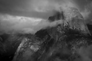 A Rock Against the Storm: Half Dome & Tenaya Canyon