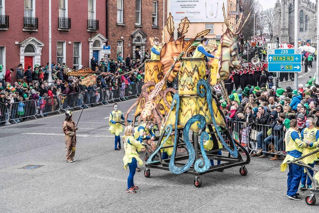 Dowtcha Puppet's At The St.Patrick's Parade [Dublin 2016]-112516