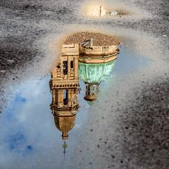 REGGIO IN UNA POZZA (zozoros) Tags: rain puddle emilia pioggia reggio reggioemilia pozzanghera
