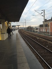 Gare de Colombes (stefff13) Tags: paris france train gare rails colombes