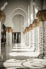Mosque 12 (monochromia - jeremy chivers) Tags: march mosque abudhabi 2016 sheikhzayedmosque