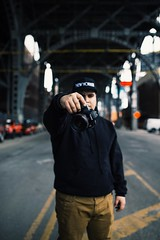 Shooter (JayMischief) Tags: new york city nyc red portrait art haarlem 35mm canon photography 50mm bokeh mark harlem manhattan iii 14 sigma ring 5d 12 dg f12 6d 5s 12l hsm sitma