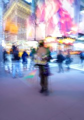 Times Square (sinbadcc1 (On Facebook & Instagram)) Tags: 2016 nyc manhattan timessquare man icm artsy
