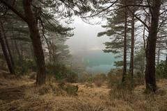 Blue Pool, Dorset (RattyBoots) Tags: mist fog canon scenery dorset picturesque touristattraction beautyspot bluepool 1635f4 5d3