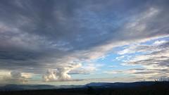 Far Away (Black_Claw) Tags: sea sky cloud mountain silhouette indonesia landscape bay hill highland dompu westnusatenggara sonya300
