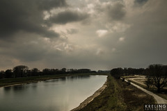 (PGKreling) Tags: sky holland water clouds arnhem nederland dramatic approved drama refelection