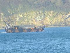 Landing craft leaving Pentewan (mukaloon) Tags: landingcraft royalnavy pentewan