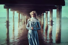 The Pier (Valerie Thompson Photography) Tags: california blue light shadow sea portrait lake art water beautiful beauty photoshop canon pose photography pier diy photo dock model artist photographer dress photoshoot nevada creative tahoe naturallight laketahoe pearls blonde editorial create nautical reno retouch edit southlaketahoe renonevada portraitphotographer thrifted creativephotography diyphotography canon6d renophotographer renoportraitphotographer