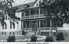 Selkirk - General Hospital, 1920s (vintage.winnipeg) Tags: canada history vintage historic manitoba selkirk ruralmanitoba