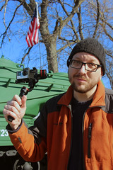 portrait tank americanflag gimbal gopro fotodiox hero4... (Photo: FotodioxPro on Flickr)