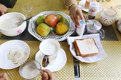 Aunt Jane Says She Will Have Her Porridge After Finishing Lydias Elopement (Mayank Austen Soofi) Tags: austen breakfast jane delhi pride aunt bennet lydia porridge walla prejudice