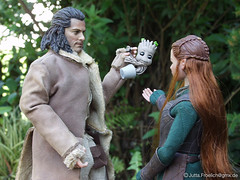 Baby_Groot (alegras dolls) Tags: actionfigure bard thehobbit 16scale guardiansofthegalaxy asmustoys tauriel babygroot