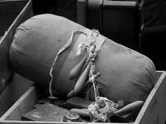 a pillow for lace pizzi e merletti (Melvintay) Tags: tombolo pizzi merletti photobw imparailcucito ilmerlettodathe
