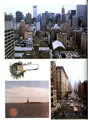 View of New York City (Hunter College Archives) Tags: nyc newyorkcity skyline manhattan yearbook hunter 1992 statueofliberty lexingtonave huntercollege wistarion thewistarion