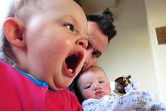 Yawney Yawnsville (Jon Pinder) Tags: family canon children babies yawn powershot s100
