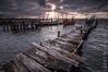 Carrasqueira. Portugal (Carlos J. Teruel) Tags: viaje portugal mar nikon tokina nubes carrasqueira lightroom marinas d300 palafitico xaviersam singhraydarylbensonnd3revgrad carlosjteruel