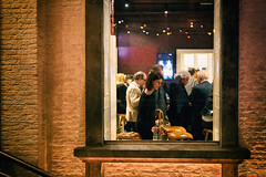 Eventgastronomy (glasseyes view) Tags: people window wall bricks illumination event gastronomy ilmuro glasseyesview