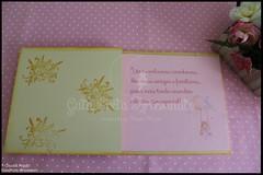 """Caixa grande de batizado, de recordaes e livro de honra """"Fairy Dream"""" (GataPreta Artesanato) Tags: batizado batismo recordaes livrodehonra lembranasbatizado conjuntobatizado caixadebatizado caixaparabatizado"""