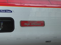 390137 nameplate. Manchester Piccadilly (18/4/16) (*ECMLexpress*) Tags: west manchester coast piccadilly trains class virgin emu 390 pendolino wcml 390137