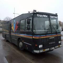 Crazy Mike (neppanen) Tags: bus suomi finland volvo helsinki crazymike bussi discounterintelligence ds stuntteam sampen nuorisoasiainkeskus helsinginkilometritehdas