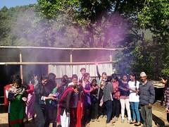 Holi in full swing (rukmini_foundation) Tags: nepal colors celebration holi didi mentoring