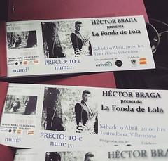 """9 de abril, primer concierto de esta temporada. Hazte ya con tu entrada en papel o por internet. No esperes al último momento que están volando!! http://www.teatroriera.es/teatro-riera/noticias/entradas-ya-a-la-venta-para-el-concierto-de-hector-braga-el-s <a style=""""margin-left:10px; font-size:0.8em;"""" href=""""http://www.flickr.com/photos/60002574@N04/26008506105/"""" target=""""_blank"""">@flickr</a>"""