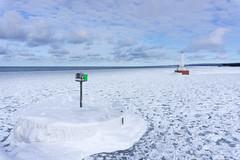 Frozen Breakwater on Lake Superior (Invinci_bull) Tags: winter lighthouse lake kite ice michigan superior iceberg breakers kap upperpeninsula lakesuperior kiteaerialphotography keweenaw keweenawpeninsula michigansupperpeninsula keweenawwaterway subzerowindchill keweenawwaterwayupperentrancelight michiganskeweenawpeninsula upperentrancelight