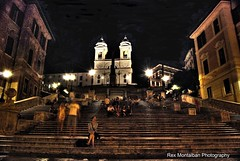 Spanish Steps (Rex Montalban Photography) Tags: italy rome europe hdr spanishsteps rexmontalbanphotography