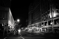 Film Noir Part I (Anthonypresley1) Tags: street light white black building film architecture night buildings lights noir memphis tennessee south anthony presley anthonypresley