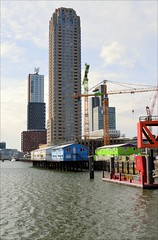 House on Stilts (Manurva) Tags: netherlands architecture rotterdam kopvanzuid rijnhaven