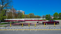 Fordham University Rowing Trailer, Bronx, New York City (jag9889) Tags: auto nyc newyorkcity usa ny newyork car boat parkinglot automobile ship unitedstates outdoor bronx unitedstatesofamerica fordham vessel transportation vehicle rowing rowboat trailer thebronx 2016 fordhamuniversity westbronx allamericacity jag9889 20160427