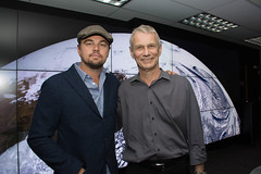 Leonardo DiCaprio visited Goddard Saturday to discuss Earth science with Piers Sellers (NASA Goddard Photo and Video) Tags: piers nasa sellers pierssellers leonarddicaprio