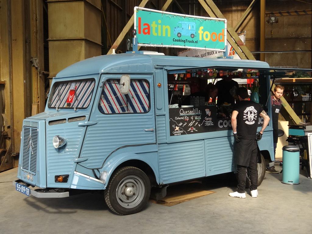 1977 Citroen HY Food Truck Harry Nl Tags Netherlands Utrecht Nederland Hy Foodtruck