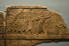 Assyrian lion hunt (Mr. Russell) Tags: england london britishmuseum lionhunt assyria
