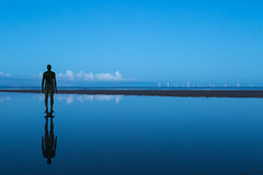 Reflection (Carol Curd) Tags: crosby antonygormley anotherplace