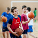 Kosárlabda edzés a Kőrösi Csoma Sándor Kéttannyelvű Általános Iskolában