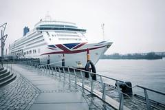 ms aurora (winne pu) Tags: germany ship hamburg quay cruiseship