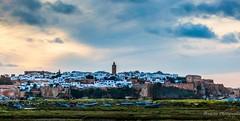 La mdina de Rabat - Morocco (Bouhsina Photography) Tags: sunset sky panorama clouds marina sunrise canon landscape boats soleil coucher morocco maroc paysage murs rabat barques mosque murailles mdina markiii chellah bouregreg ef7020028ii 5diii ancinne