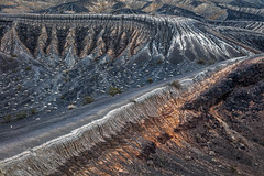 Overlapping Craters (Kirk Lougheed) Tags: california usa landscape nationalpark unitedstates outdoor crater deathvalley blast maar ubehebe ubehebecrater deathvalleynationalpark phreaticexplosion